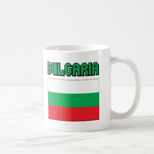 Bandera de Bulgaria Tazas