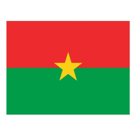 Bandera de Burkina Faso Postal