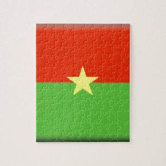 Bandera de Burkina Faso Rompecabeza Con Fotos