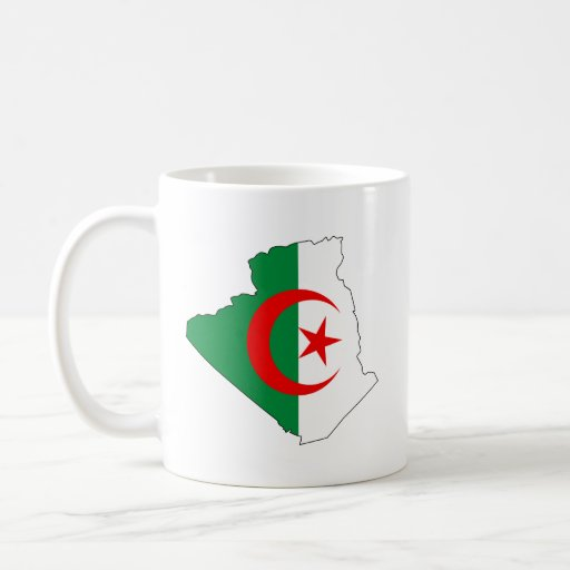 Bandera de Burkina Faso Taza Básica Blanca