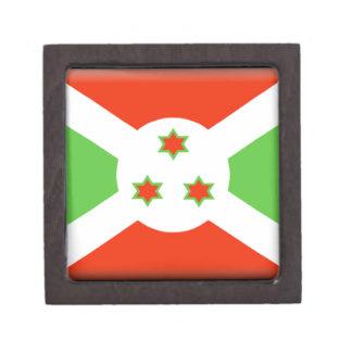 Bandera de Burundi Cajas De Joyas De Calidad