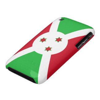 Bandera de Burundi Case-Mate iPhone 3 Carcasas