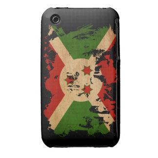 Bandera de Burundi Case-Mate iPhone 3 Protector