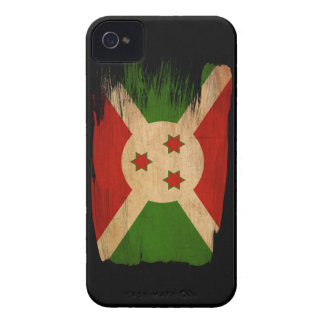 Bandera de Burundi Case-Mate iPhone 4 Cárcasas