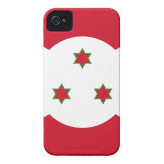Bandera de Burundi Case-Mate iPhone 4 Cobertura