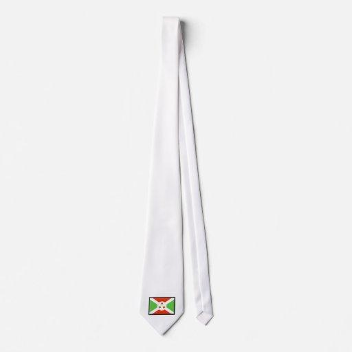 Bandera de Burundi Corbatas