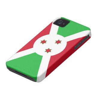 Bandera de Burundi iPhone 4 Case-Mate Cobertura