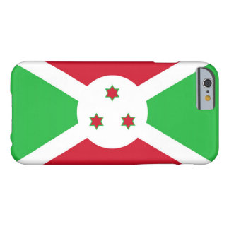 Bandera de Burundi Funda De iPhone 6 Barely There