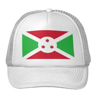 Bandera de Burundi Gorros