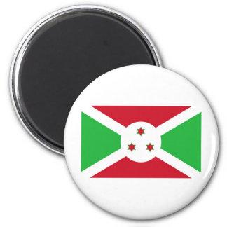 Bandera de Burundi Imán Para Frigorifico