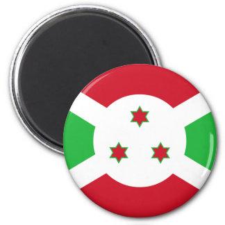 Bandera de Burundi Imán Para Frigorífico