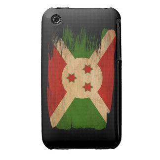 Bandera de Burundi iPhone 3 Case-Mate Protectores