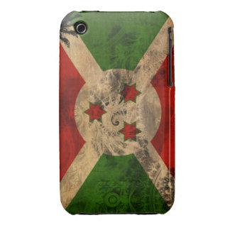 Bandera de Burundi iPhone 3 Fundas