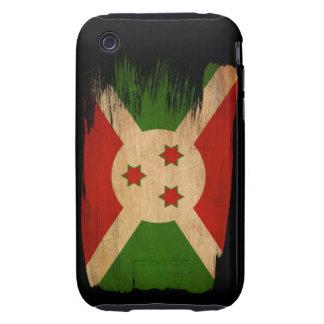 Bandera de Burundi iPhone 3 Tough Funda