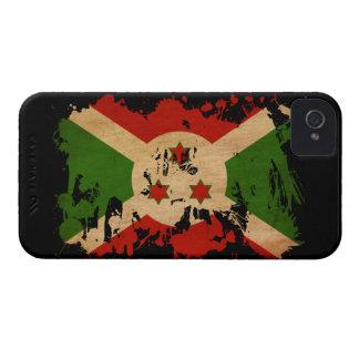 Bandera de Burundi iPhone 4 Carcasa