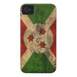 Bandera de Burundi iPhone 4 Cárcasas