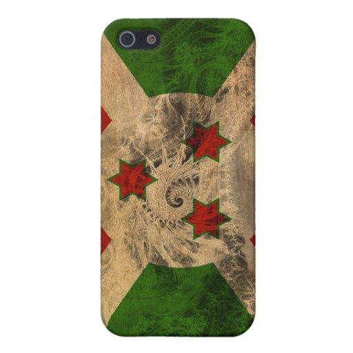 Bandera de Burundi iPhone 5 Cobertura