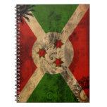 Bandera de Burundi Libro De Apuntes