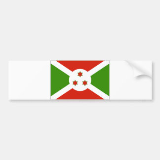 Bandera de Burundi Pegatina Para Auto