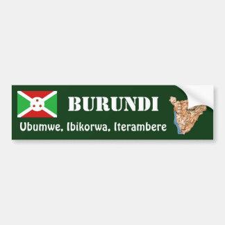 Bandera de Burundi + Pegatina para el parachoques  Pegatina Para Auto