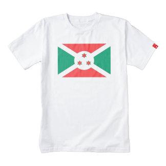 Bandera de Burundi Playera Zazzle HEART