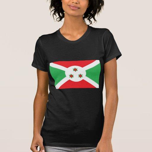 Bandera de Burundi Playeras