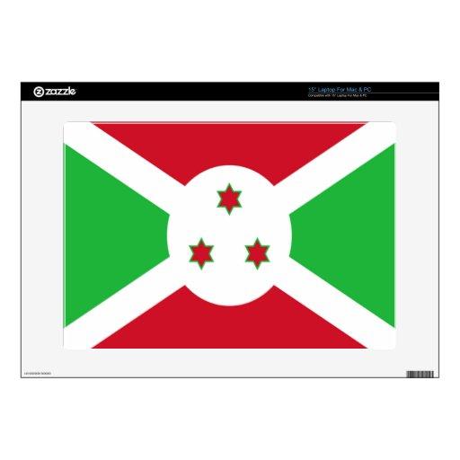 Bandera de Burundi Portátil Skins