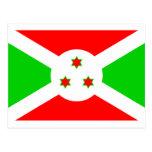 Bandera de Burundi Tarjeta Postal