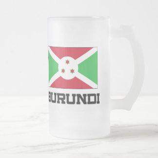 Bandera de Burundi Taza