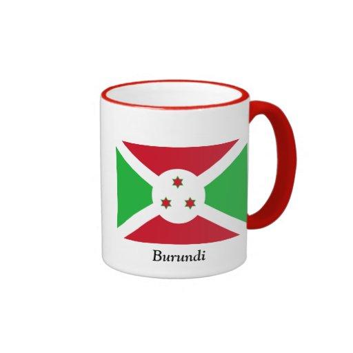 Bandera de Burundi Taza De Dos Colores