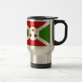 Bandera de Burundi Taza De Viaje
