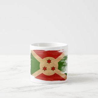 Bandera de Burundi Tazas Espresso