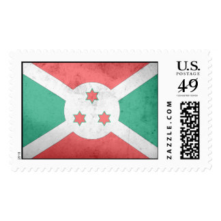 Bandera de Burundi Timbres Postales