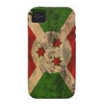Bandera de Burundi Vibe iPhone 4 Carcasa