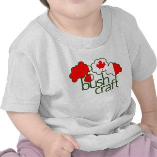 Bandera de Bushcraft Canadá Camiseta