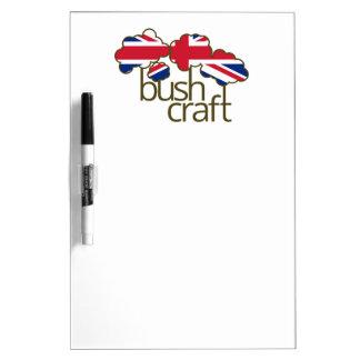 Bandera de Bushcraft Reino Unido Pizarra
