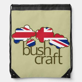 Bandera de Bushcraft Union Jack Mochila