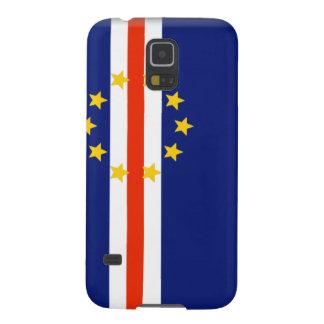 Bandera de Cabo Verde Fundas De Galaxy S5