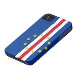 Bandera de Cabo Verde iPhone 4 Coberturas