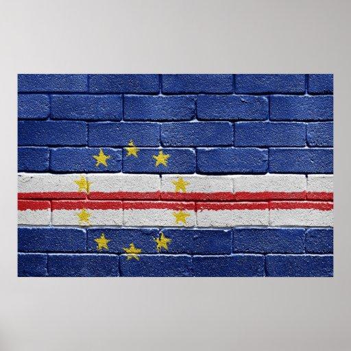 Bandera de Cabo Verde Póster