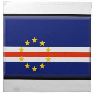 Bandera de Cabo Verde Servilletas De Papel