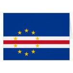 Bandera de Cabo Verde Tarjetas
