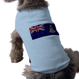 Bandera de Caimán de madera Camisetas De Mascota