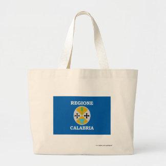 Bandera de Calabria Bolsas De Mano