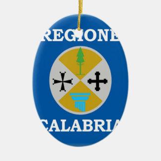 Bandera de Calabria (Italia) Ornamentos De Reyes
