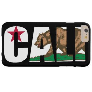 Bandera de Cali California Funda Barely There iPhone 6 Plus