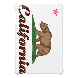 Bandera de California A cuadros-Hacia fuera iPad Mini Cárcasa