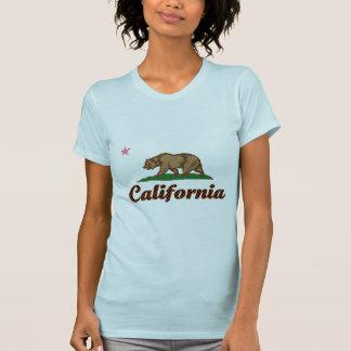 Bandera de California A cuadros-Hacia fuera Camiseta