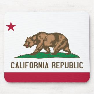Bandera de California Alfombrillas De Raton