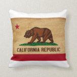 Bandera de California Almohada